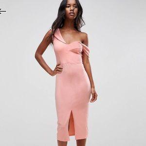 ASOS Asymmetric Midi Dress